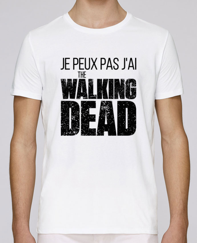 T-Shirt Col Rond Stanley Leads The walking dead par tunetoo