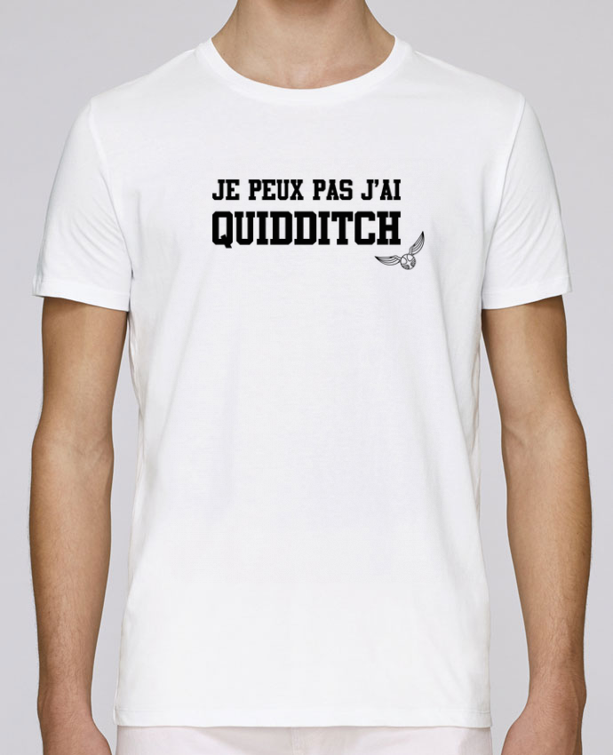 T-Shirt Col Rond Stanley Leads Je peux pas j'ai quidditch par tunetoo