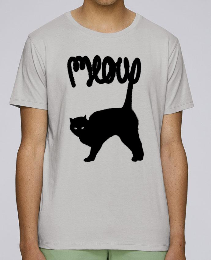 T-Shirt Col Rond Stanley Leads Meow par Florent Bodart