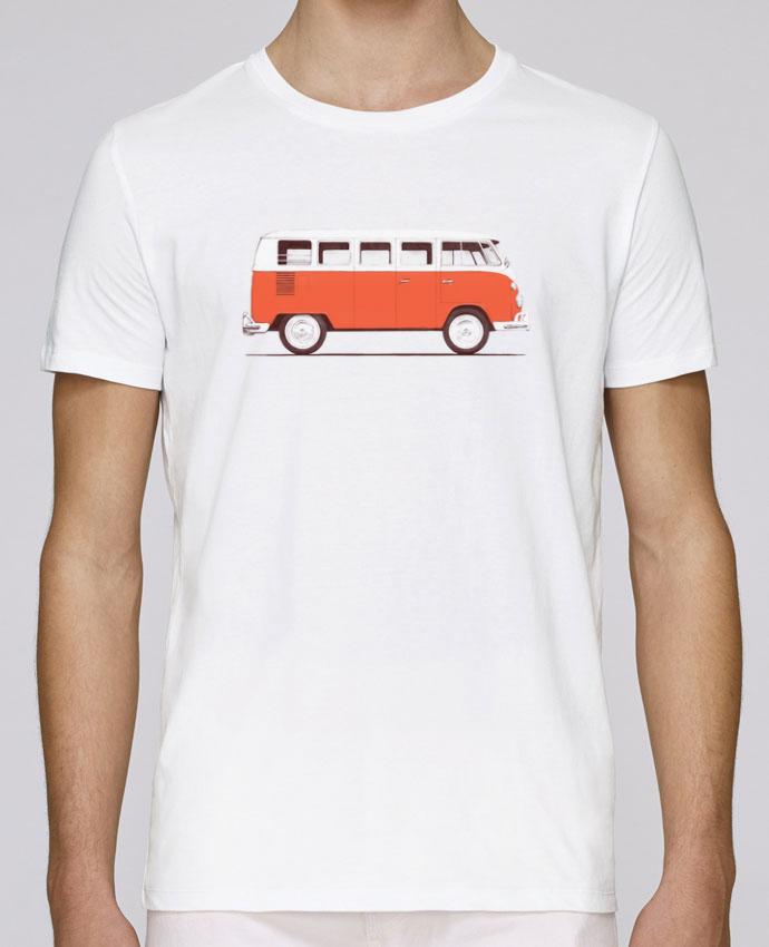 T-Shirt Col Rond Stanley Leads Red Van par Florent Bodart