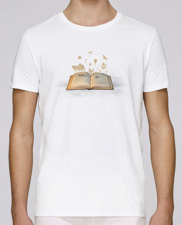 T-Shirt Col Rond Stanley Leads Words take flight par Florent Bodart