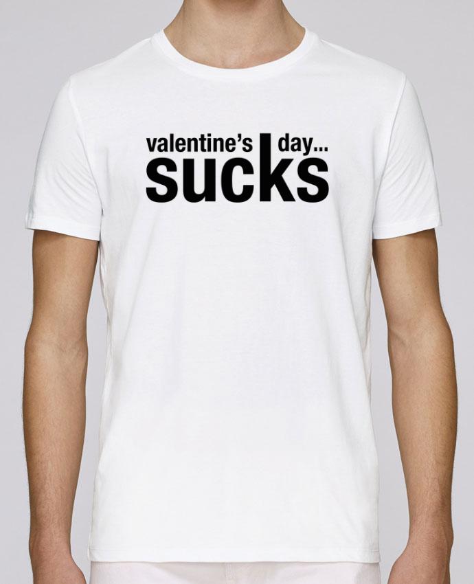 T-Shirt Col Rond Stanley Leads Valentine's day sucks par tunetoo