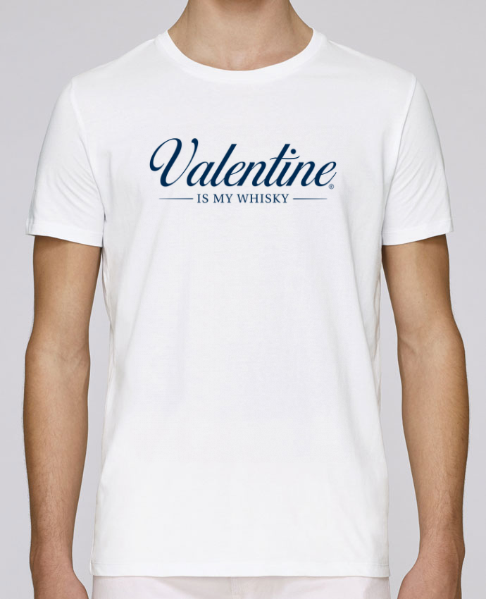 T-Shirt Col Rond Stanley Leads Valentine is my whisky par tunetoo