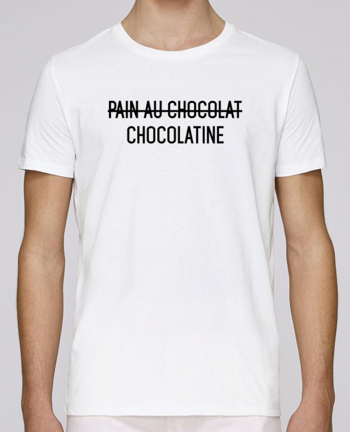 T-Shirt Col Rond Stanley Leads Chocolatine par tunetoo