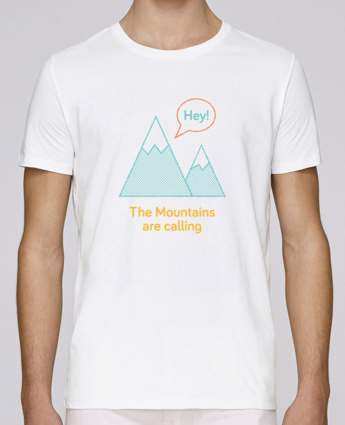 T-Shirt Col Rond Stanley Leads Mountains par chriswharton