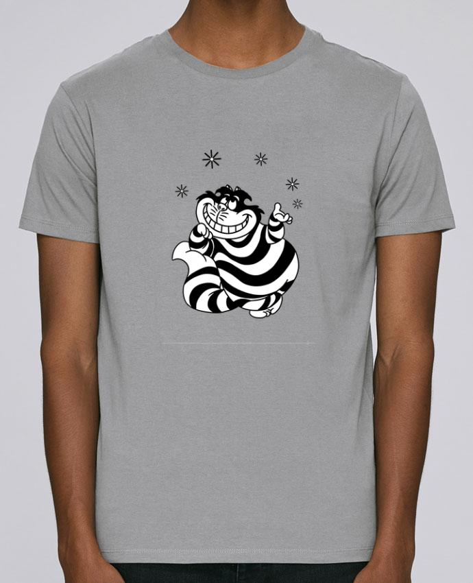 T-Shirt Col Rond Stanley Leads Cheshire cat par tattooanshort