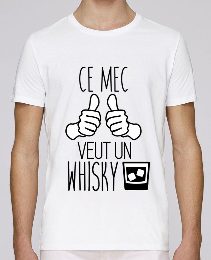 T-Shirt Col Rond Stanley Leads Ce mec veut un whisky par Benichan