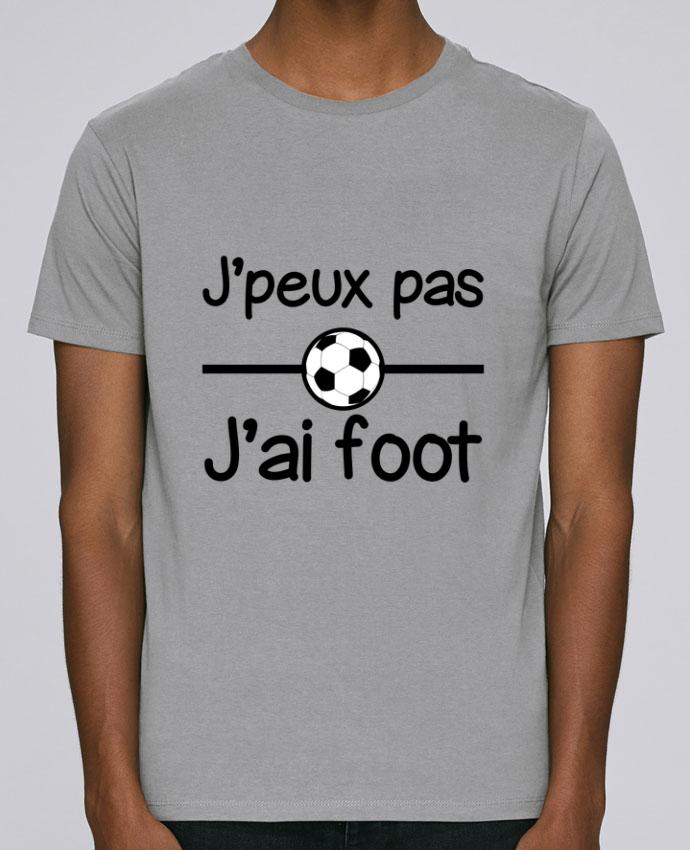 T-Shirt Col Rond Stanley Leads J'peux pas j'ai foot , football par Benichan