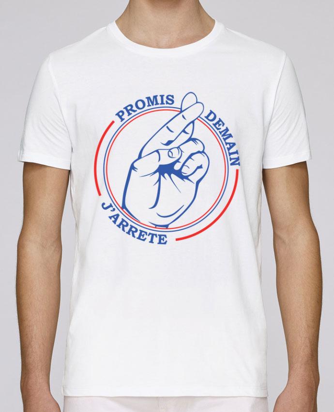 T-Shirt Col Rond Stanley Leads Promis, doigts croisés par Promis