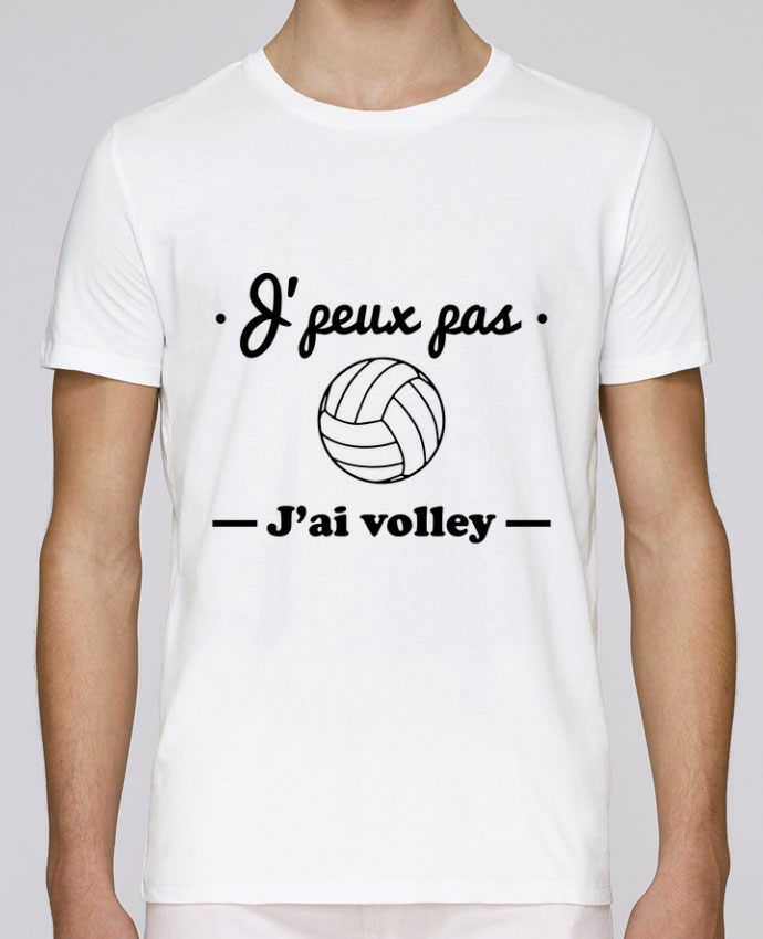 T-Shirt Col Rond Stanley Leads J'peux pas j'ai volley , volleyball, volley-ball par Benichan