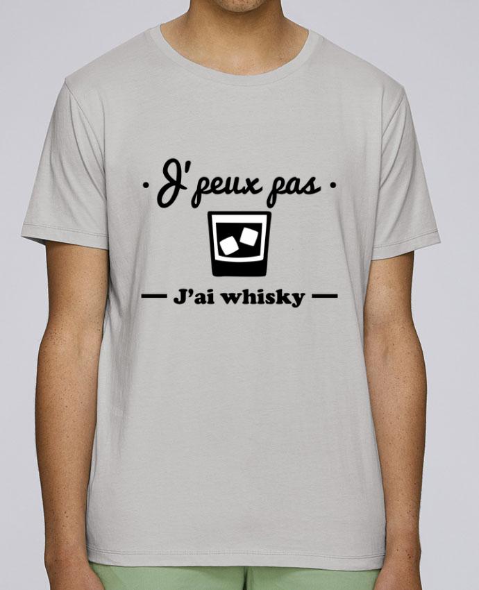 T-Shirt Col Rond Stanley Leads J'peux pas j'ai whisky, humour,alcool,citations,drôle par Benichan