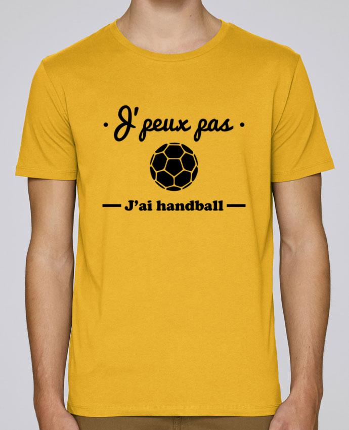 T-Shirt Col Rond Stanley Leads J'peux pas j'ai handball ,  tee shirt handball, hand par Benichan