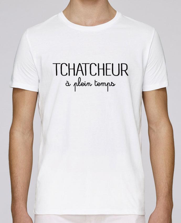 T-Shirt Col Rond Stanley Leads Thatcheur à plein temps par Freeyourshirt.com