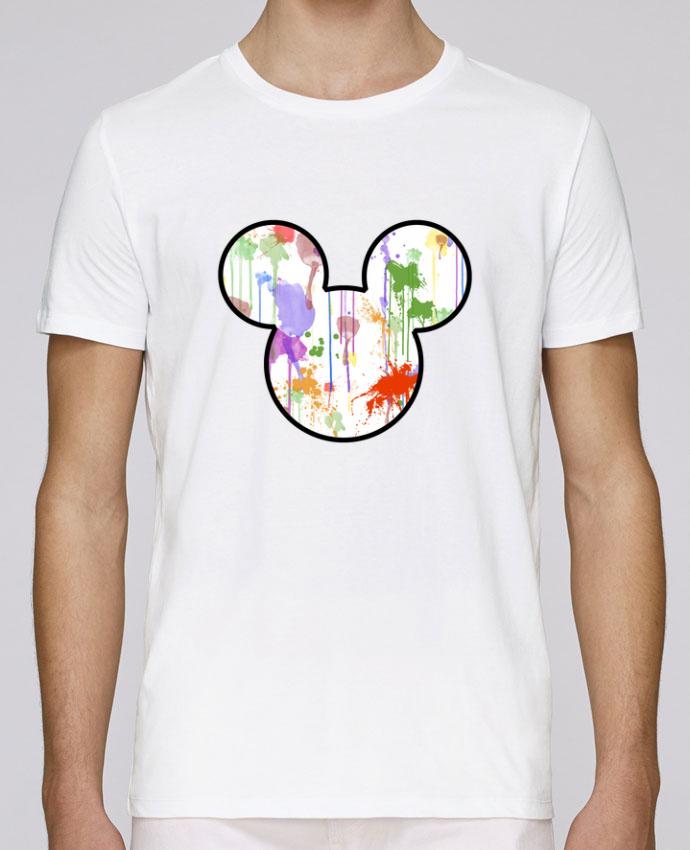 T-Shirt Col Rond Stanley Leads Mickey éclaboussures par Tasca