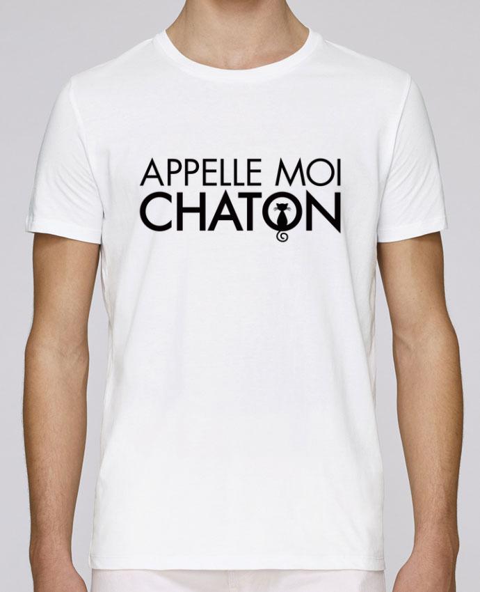 T-Shirt Col Rond Stanley Leads Appelle moi Chaton par Freeyourshirt.com