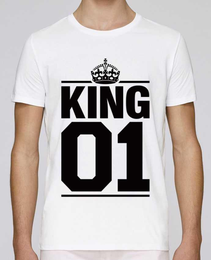 T-Shirt Col Rond Stanley Leads King 01 par Freeyourshirt.com