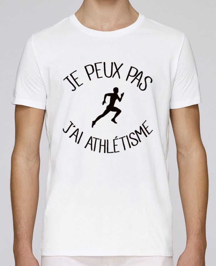 T-Shirt Col Rond Stanley Leads Je peux pas j'ai Athlétisme par Freeyourshirt.com