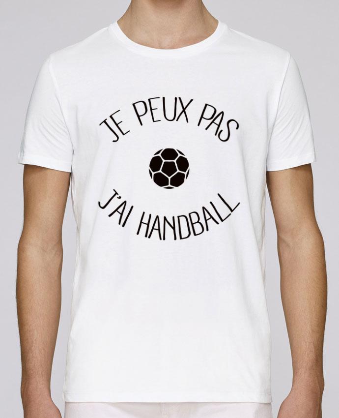 T-Shirt Col Rond Stanley Leads Je peux pas j'ai Handball par Freeyourshirt.com