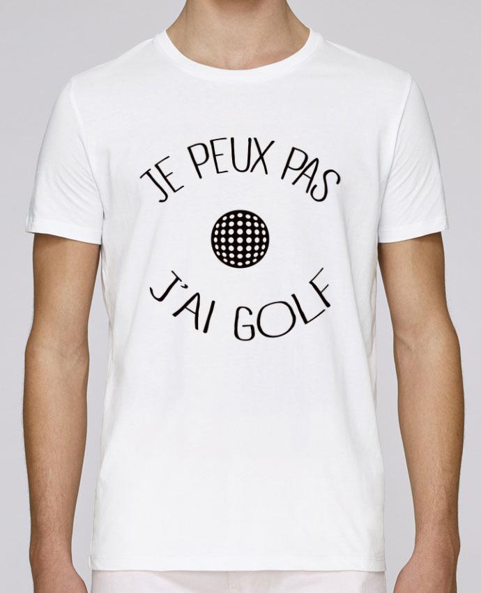 T-Shirt Col Rond Stanley Leads Je peux pas j'ai golf par Freeyourshirt.com