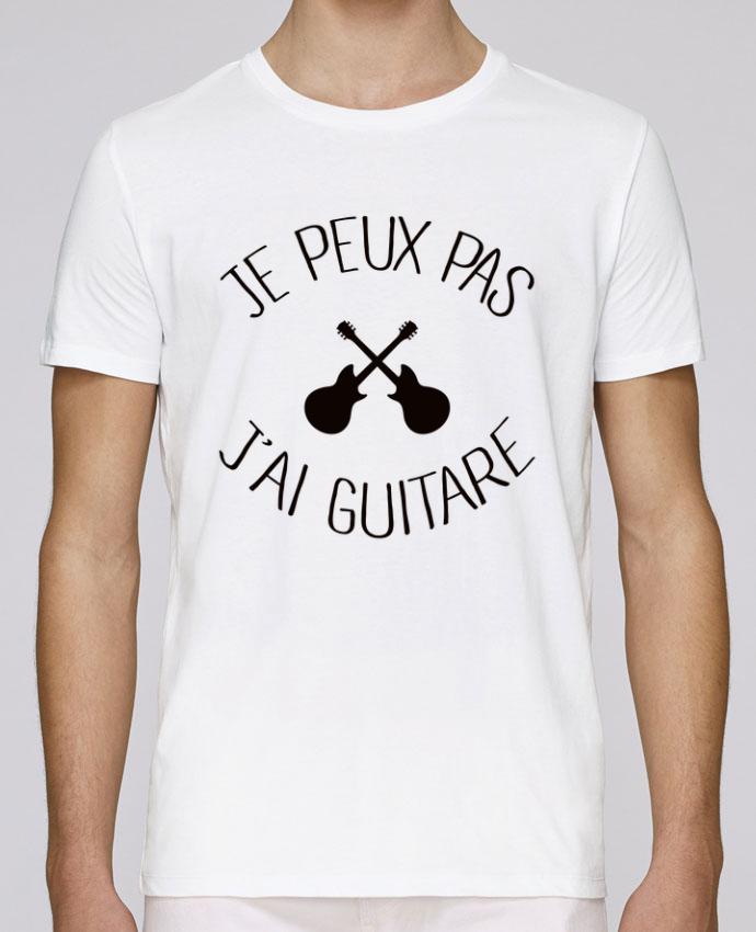 T-Shirt Col Rond Stanley Leads Je peux pas j'ai guitare par Freeyourshirt.com