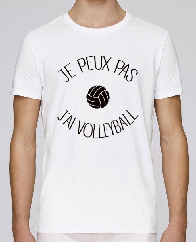 T-Shirt Col Rond Stanley Leads Je peux pas j'ai volleyball par Freeyourshirt.com