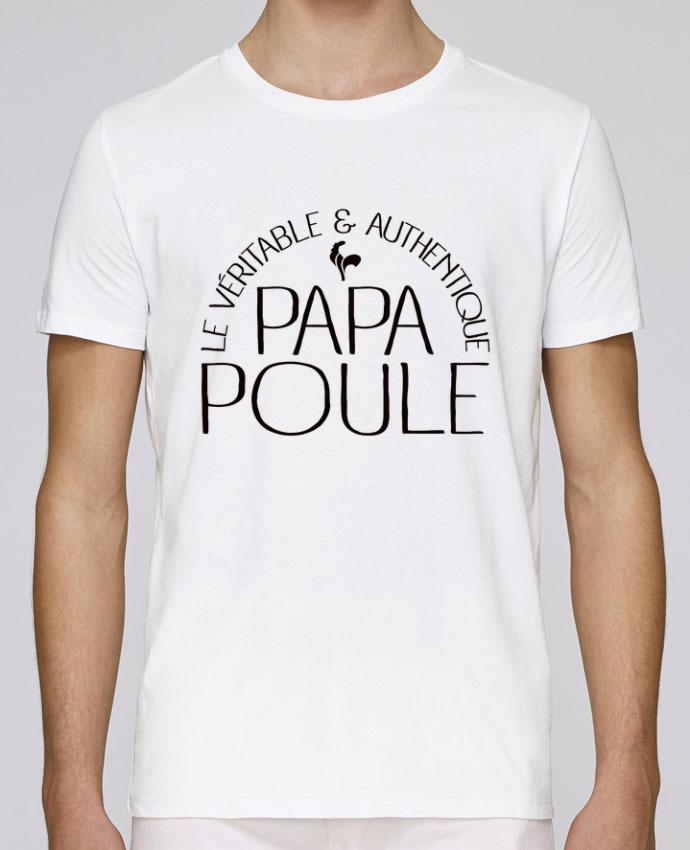 T-Shirt Col Rond Stanley Leads Papa Poule par Freeyourshirt.com