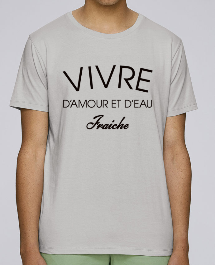T-Shirt Col Rond Stanley Leads Vivre d'amour et d'eau fraîche par Freeyourshirt.com