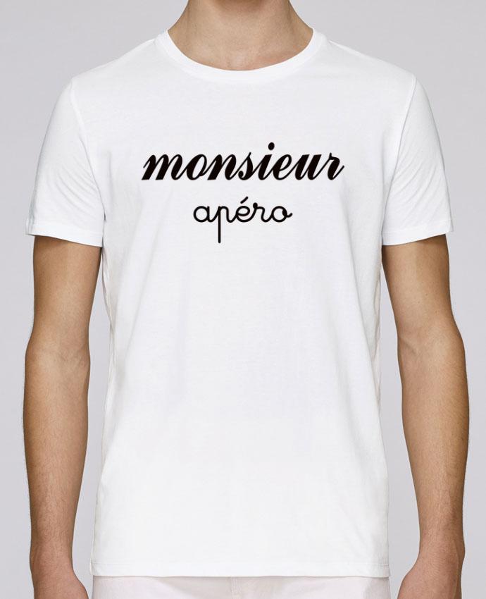 T-Shirt Col Rond Stanley Leads Monsieur Apéro par Freeyourshirt.com
