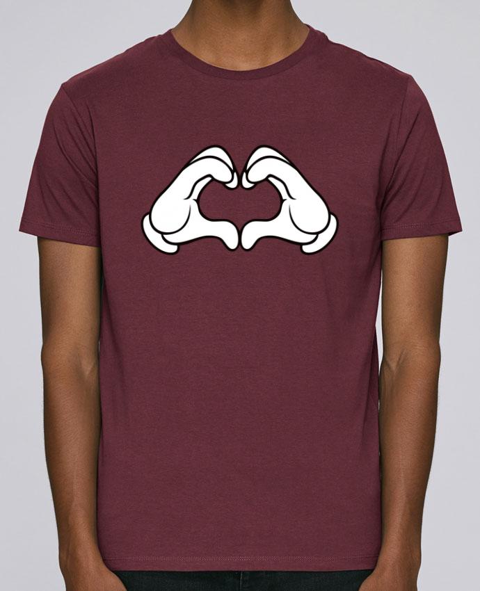 T-Shirt Col Rond Stanley Leads LOVE Signe par Freeyourshirt.com