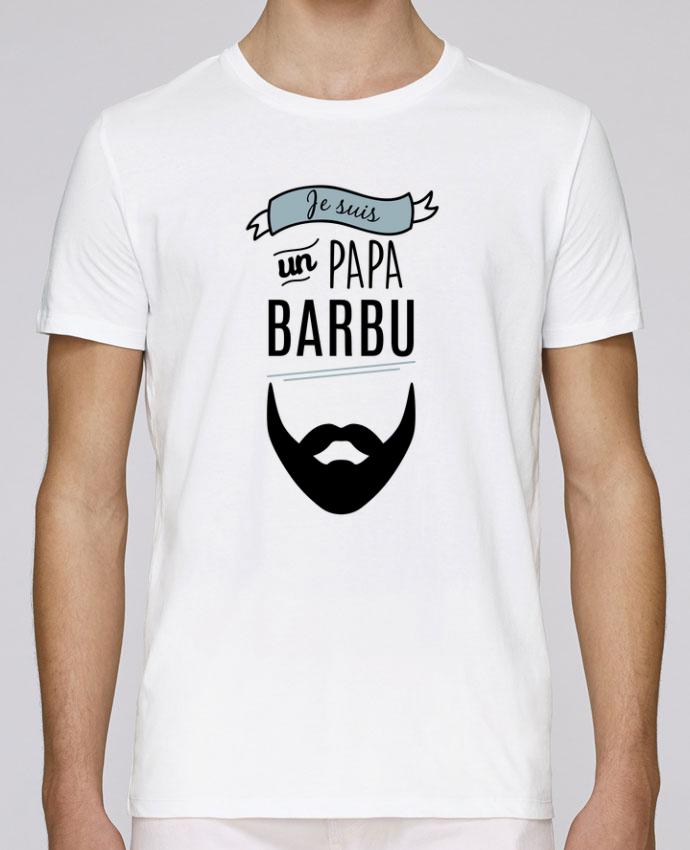 T-Shirt Col Rond Stanley Leads Je suis un papa barbu par LPMDL