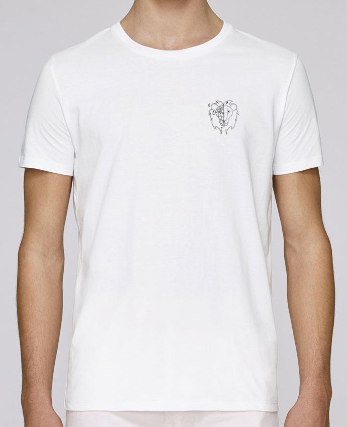 T-Shirt Col Rond Stanley Leads Tete de lion stylisée par Tasca