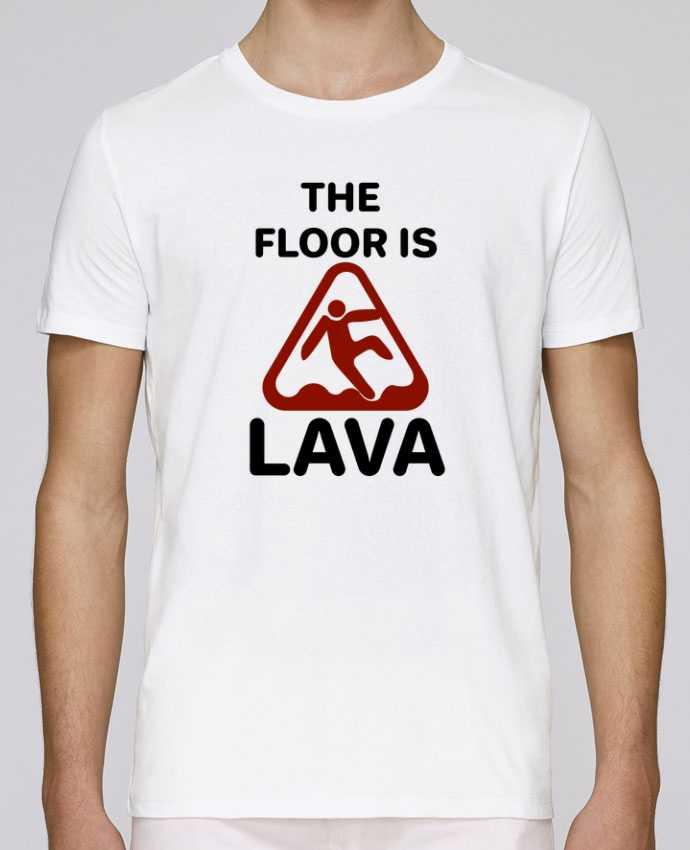 T-Shirt Col Rond Stanley Leads The floor is lava par tunetoo