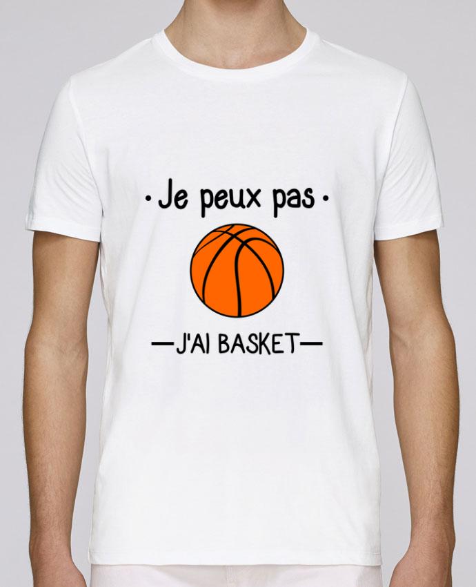 T-Shirt Col Rond Stanley Leads Je peux pas j'ai basket,basketball,basket-ball par Benichan