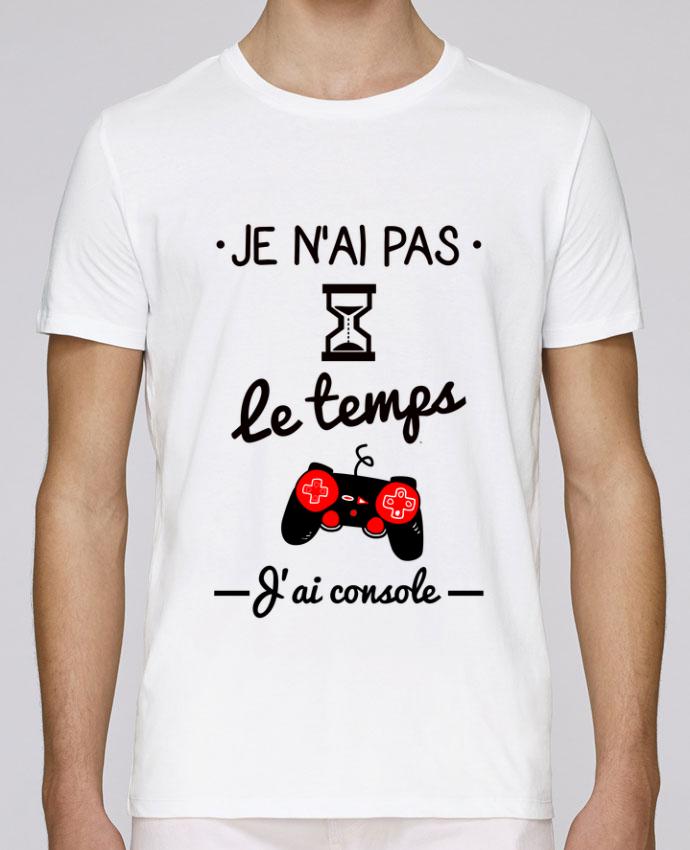 T-Shirt Col Rond Stanley Leads Pas le temps, j'ai console, tee shirt geek,gamer par Benichan