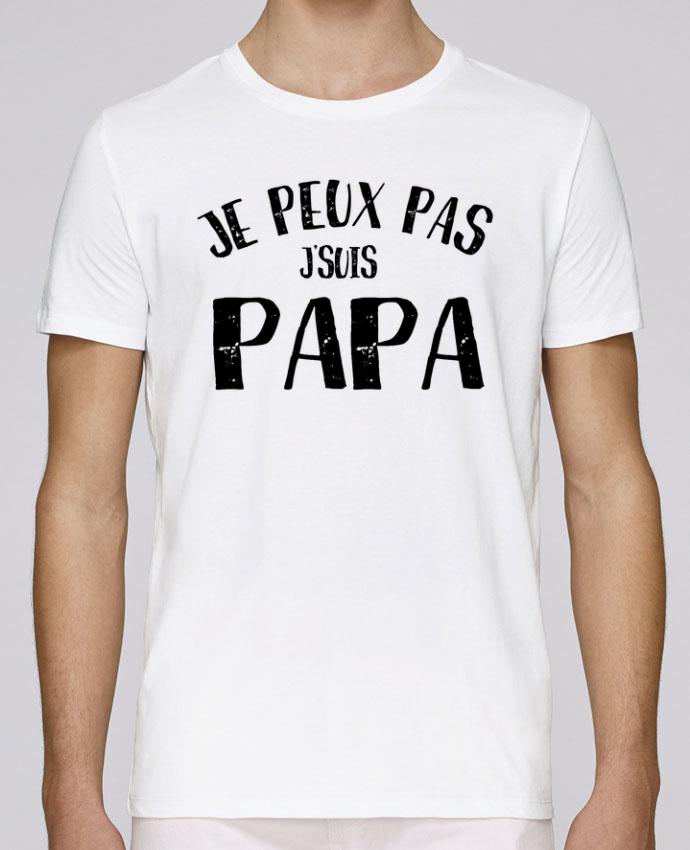 T-Shirt Col Rond Stanley Leads Je Peux Pas J'Suis Papa par L'Homme Sandwich