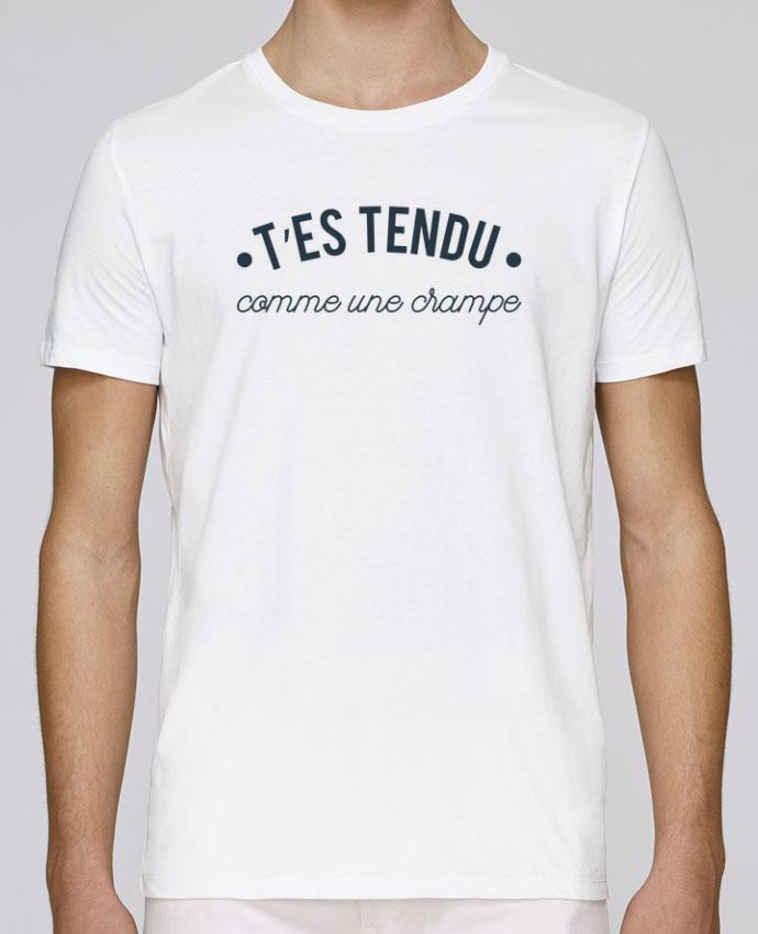 T-Shirt Col Rond Stanley Leads T'es tendu comme une crampe par tunetoo