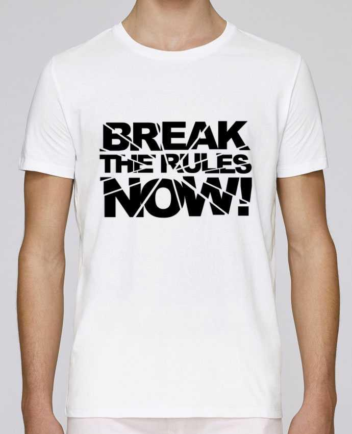 T-Shirt Col Rond Stanley Leads Break The Rules Now ! par Freeyourshirt.com