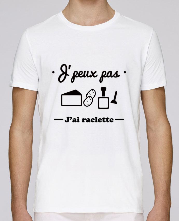 T-Shirt Col Rond Stanley Leads J'peux pas j'ai raclette par Benichan