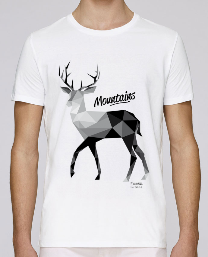 T-Shirt Col Rond Stanley Leads Mountains par Mauvaise Graine