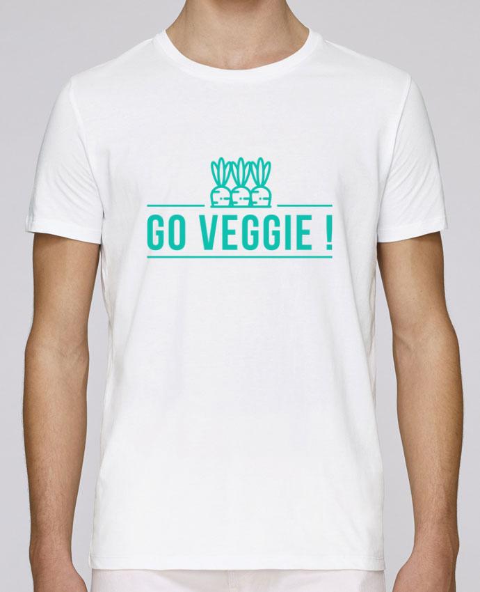 T-Shirt Col Rond Stanley Leads Go veggie ! par Folie douce