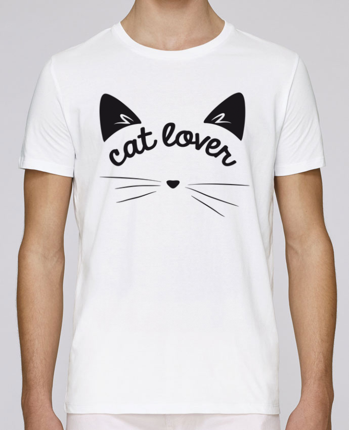 T-Shirt Col Rond Stanley Leads Cat lover par FRENCHUP-MAYO
