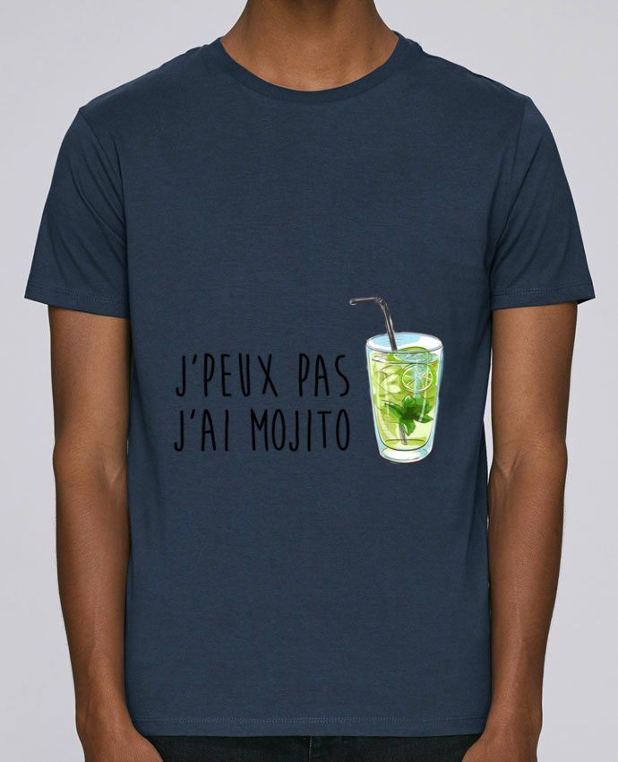 T-Shirt Col Rond Stanley Leads Je peux pas j'ai mojito par FRENCHUP-MAYO