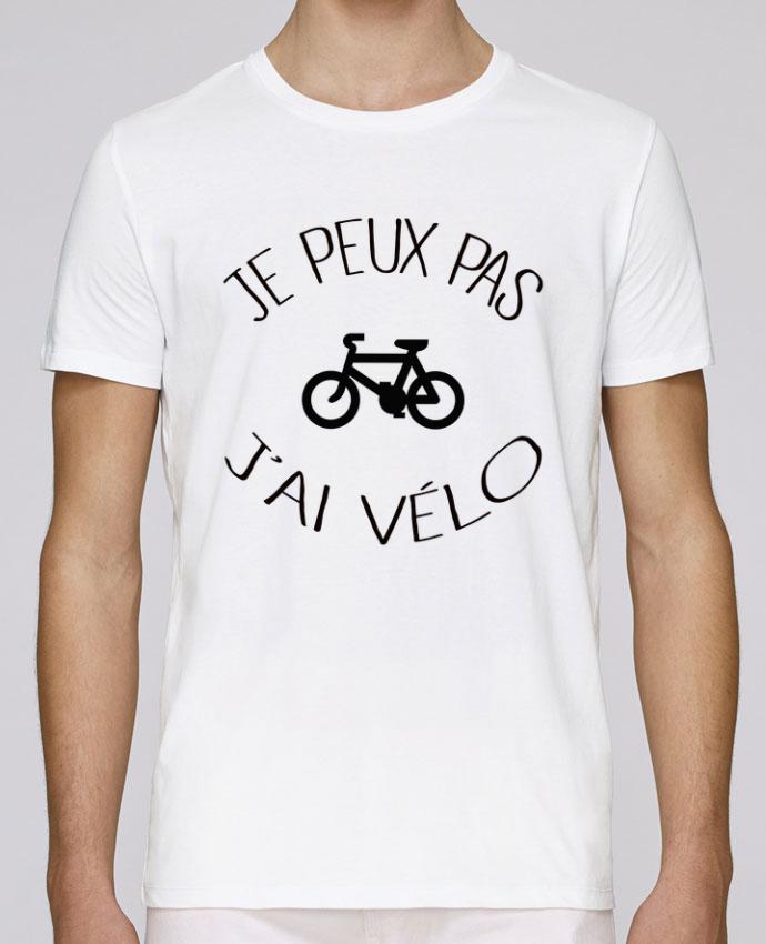T-Shirt Col Rond Stanley Leads Je peux pas j'ai vélo par Freeyourshirt.com