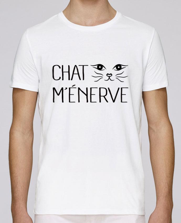 T-Shirt Col Rond Stanley Leads Chat m'énerve par Freeyourshirt.com