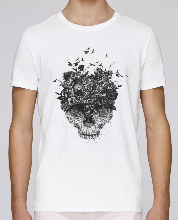 T-Shirt Col Rond Stanley Leads My head is a jungle par Balàzs Solti