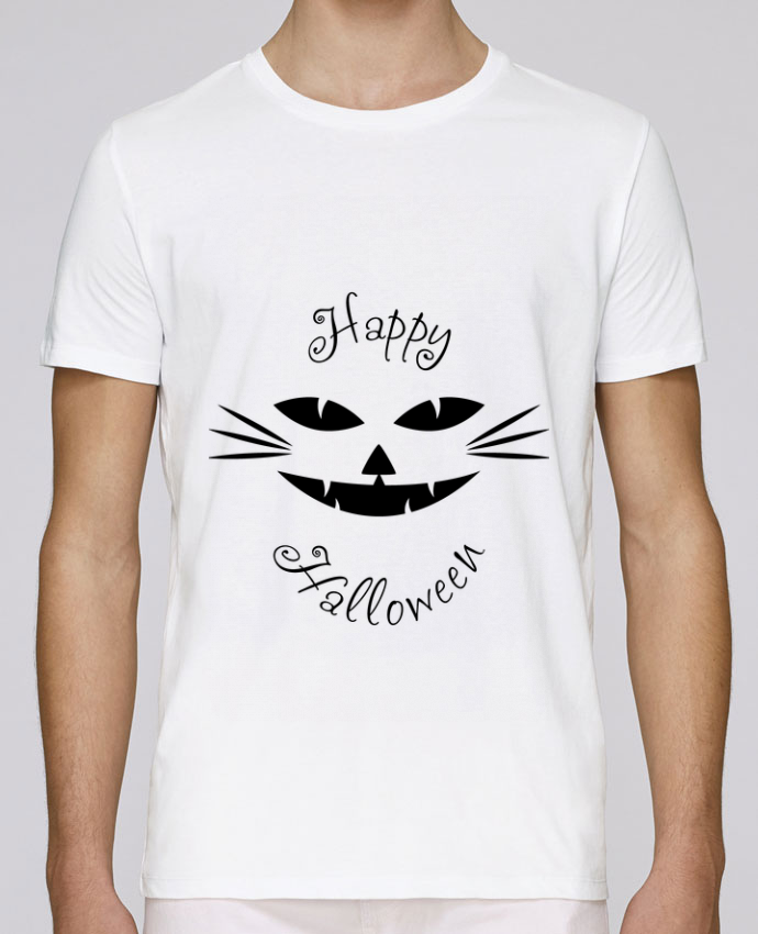 T-Shirt Col Rond Stanley Leads Happy CatHalloween par