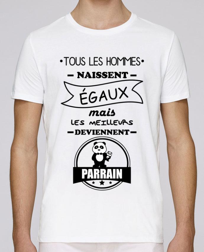 T-Shirt Col Rond Stanley Leads Tous les hommes naissent égaux mais les meilleurs deviennent parrain, parrains par Benichan
