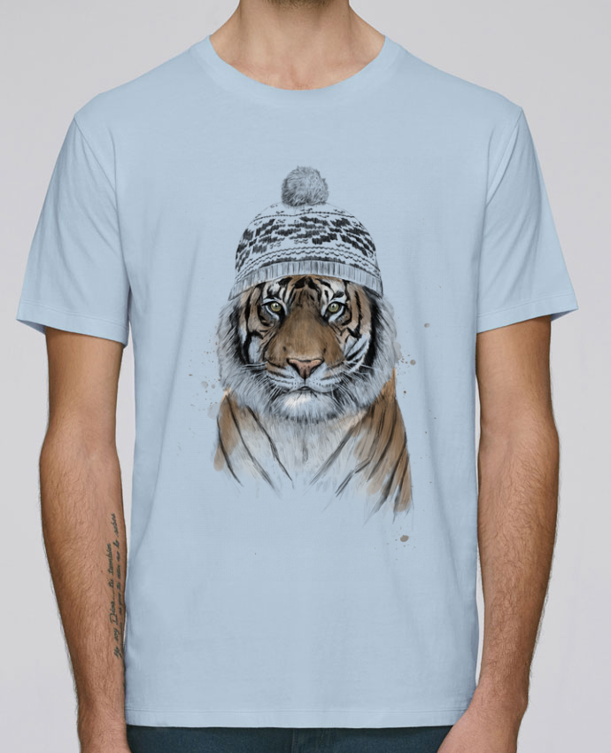 T-Shirt Col Rond Stanley Leads Siberian tiger par Balàzs Solti