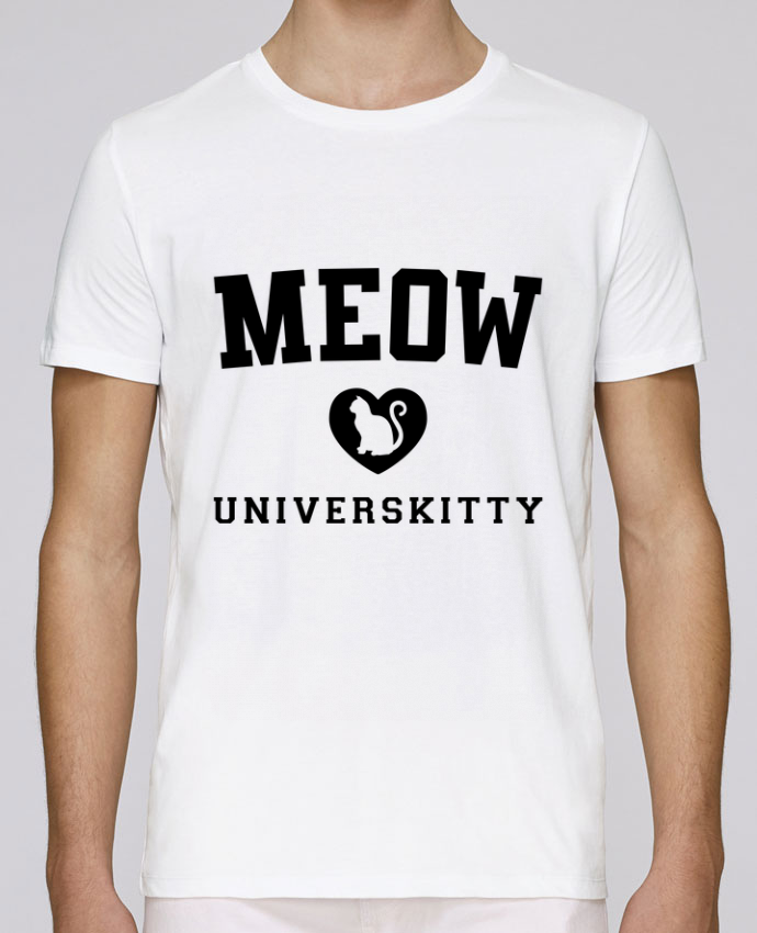 T-Shirt Col Rond Stanley Leads Meow Universkitty par Freeyourshirt.com