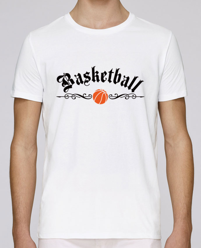 T-Shirt Col Rond Stanley Leads Basketball par Freeyourshirt.com